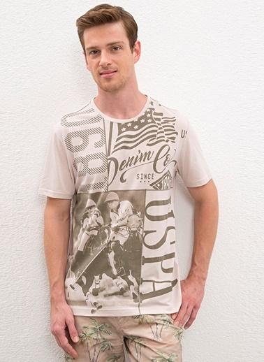 U.S. Polo Assn. Tişört Taş